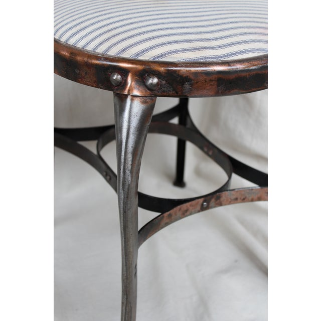 Vintage Toledo Industrial Chairs - A Pair - Image 7 of 8