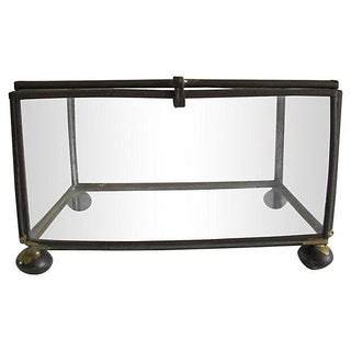 Brass & Glass Curio Box