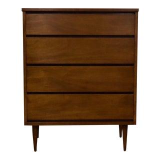 Vintage Bassett Four-Drawer Dresser