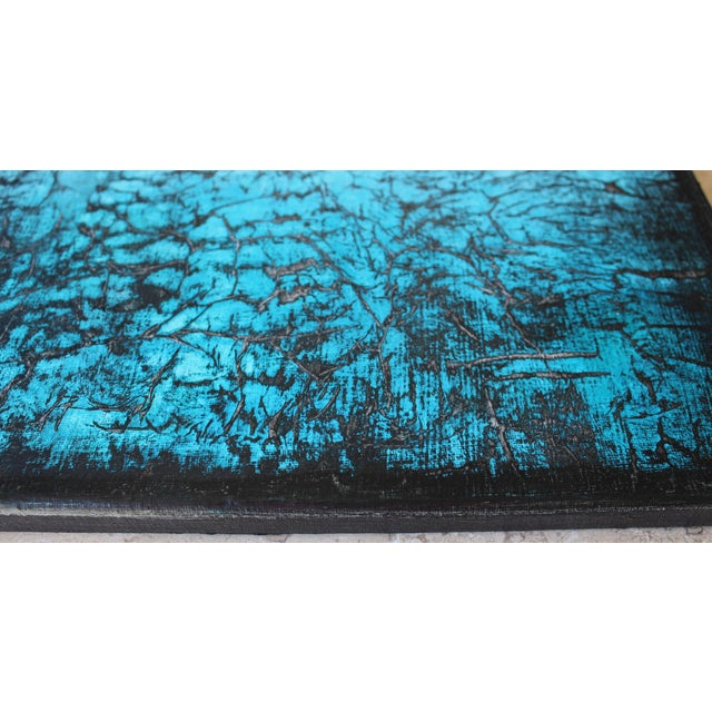 Cool Fever Original Textured Abstract Painting - Image 3 of 3
