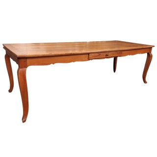 Large 19th Century French Farmhouse Table