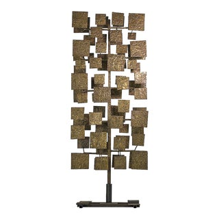 Harry Bertoia Sculpture Screen Commissioned by Florence Knoll, Usa 1959