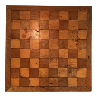 Handmade Inlaid Rustic Wooden Game Board