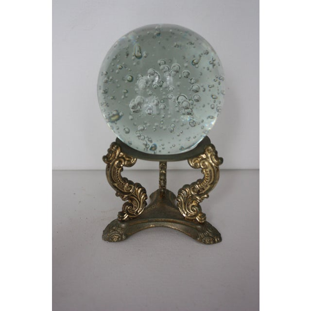 Floating Bubbles Glass Orb & Stand - Image 2 of 4