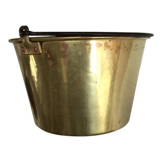Antique Brass Chimney Pot