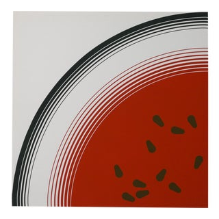 Large-Scale Mid-Century Modern Watermelon Art