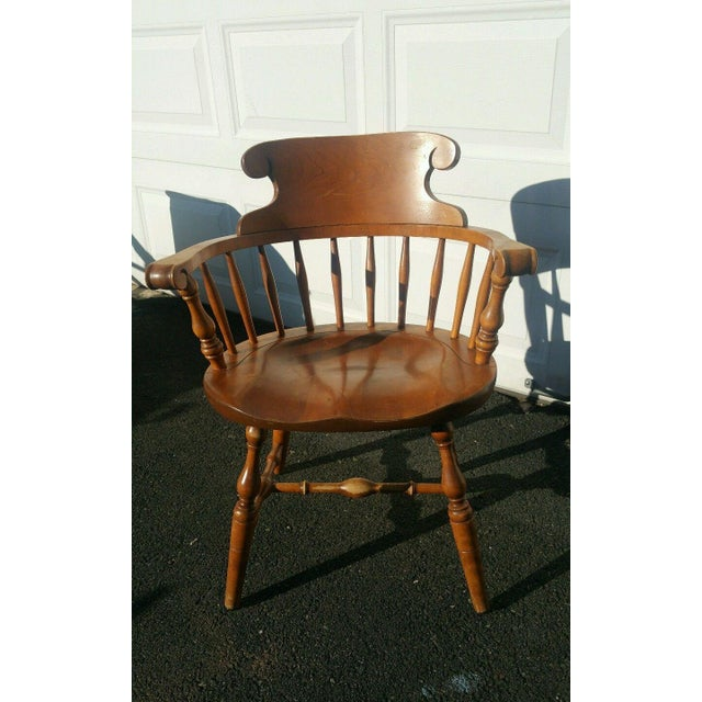 Antique Accent Chair In Colonial Style Chairish
