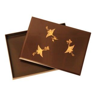 Zohiko Lacquerware Box