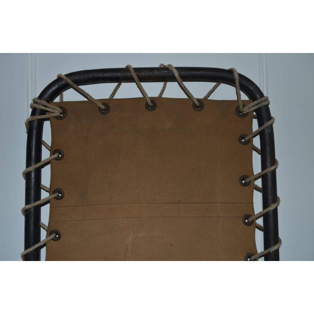 Canvas and Steel Ship's Cot - Image 2 of 4