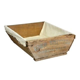 Rustic Wooden Vineyard Gathering Basket