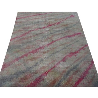 Modern Turkish Graffiti Rug - 6′5″ × 10′4″