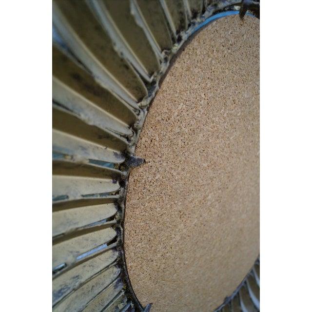 1960s Italian Oval Sunburst Mirror - Image 9 of 10
