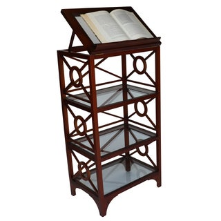 Vintage Library Stand