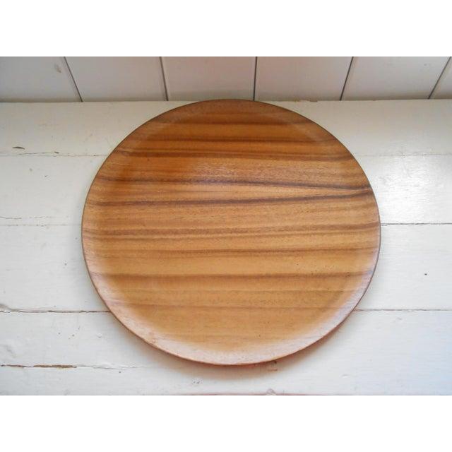 Koa Wood Trays - A Pair - Image 6 of 7