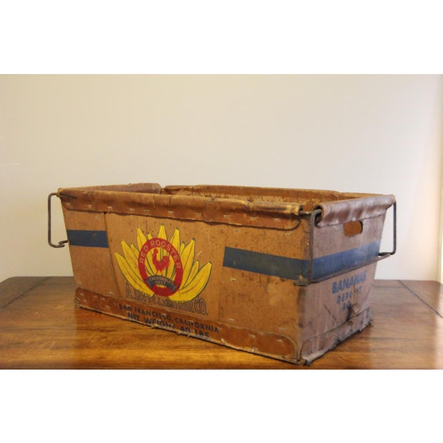 Vintage Banana Crate - Image 3 of 10
