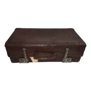 Vintage Kelvin Cardboard English Suitcase