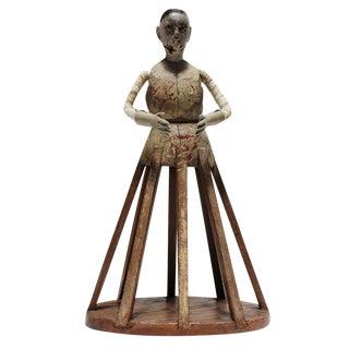 Vintage Wood Santos Figure