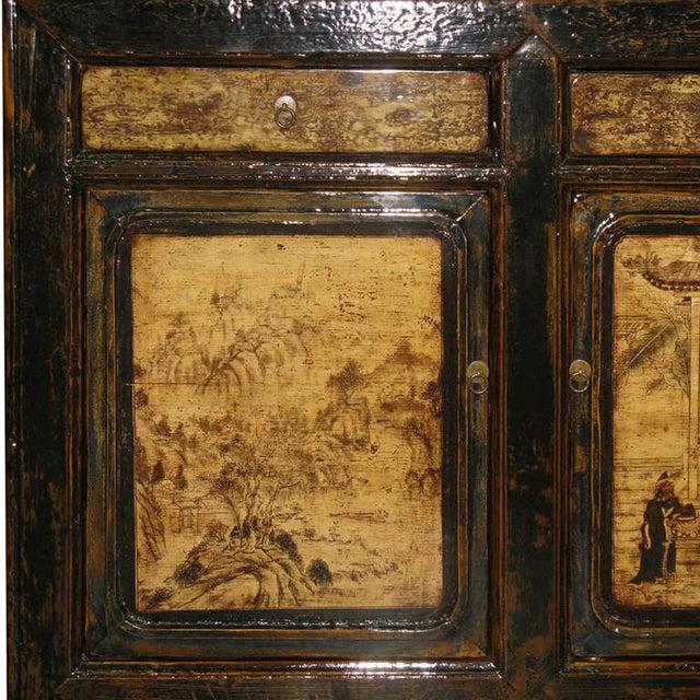 Painted Gansu Sideboard - Image 5 of 6