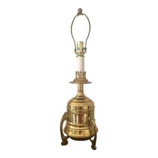 Vintage Tyndale Brass Lamp
