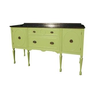 Vintage Green Buffet/Sideboard