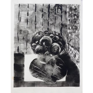 'Black and White' Mono Print