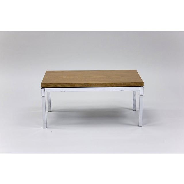 Florence knoll style side or coffee table chairish Florence knoll coffee table