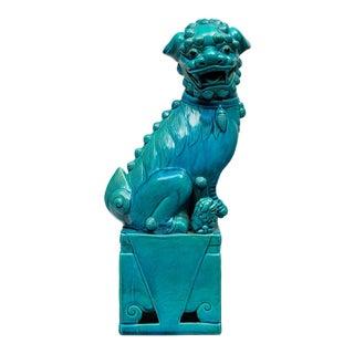 Chinese Large Turquoise Foo Dog