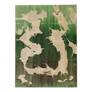 "Jessi Walton ""Spring Takes Flight"" Original Abstract Painting"