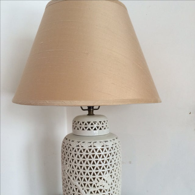 Blanc De Chine Lamp Cherry Blossom Lamp - Image 8 of 8