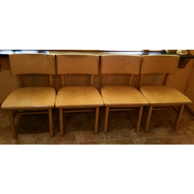 myrtle desk maple dining room chairs set of 4 chairish