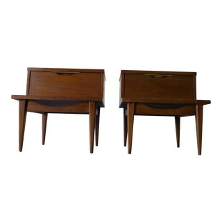 Kent Coffey Mid Century Modern Nightstands