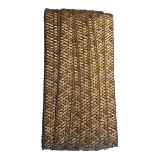 Samuel & Sons Normandy Silk Handwoven Braid Trim - Remnant Piece