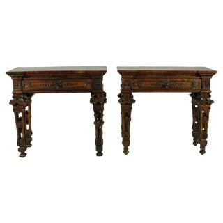 Italian Baroque Consoles - A Pair