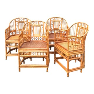 Dining Chairs Bamboo Brighton Pavilion Chairs - Set of 4