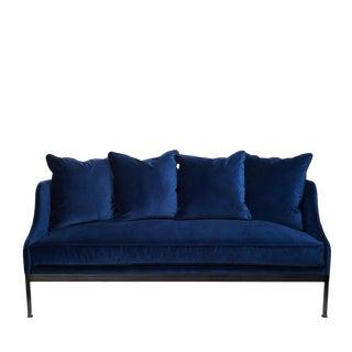 Indigo Metal Frame Sofa