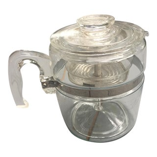 Pyrex Glass Coffee Percolator