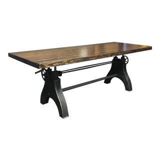 Adjustable Reclaimed Wood Table