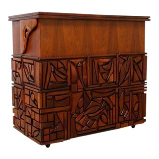 Studio Crafted Bar Cabinet by Artist Mabel Hutchinson