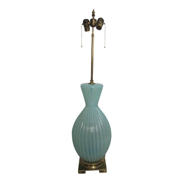 Vintage Murano Glass Lamp - Image 1 of 6