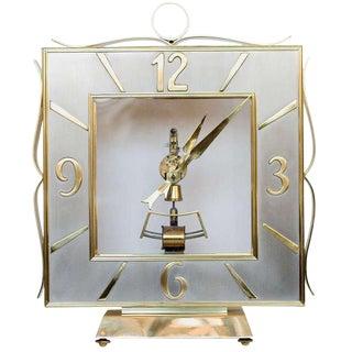 Kieninger & Obergfell Brass Mantel Clock