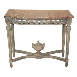 French Louis XVI Console Table