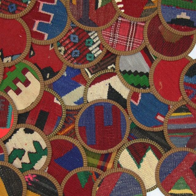 Gaziantep Kilim Coasters - Set of 4 - Image 2 of 2