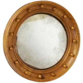 Pine Convex Mirror