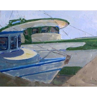 """Shrimp Boats in the Sun"" Painting"