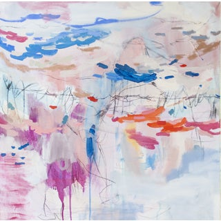 Abstract Expressionist Painting by Brenna Giessen