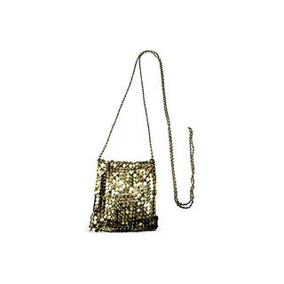 Chainmail Pouch Necklace
