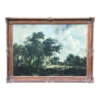 Framed Lithograph of Country Life