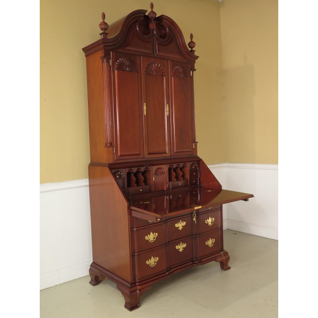 Image of Kindel Winterthur Mahogany Goddard Secretary Desk