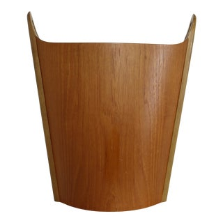 PS Heggin Norwegian Teak Wastepaper Basket