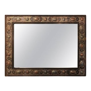 Tribal Style Hanging Wall Mirror